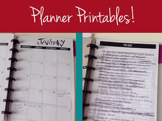 planner-printables