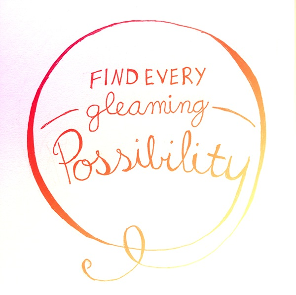 Gleaming possibility